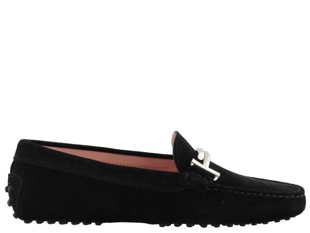 Tods loafers black shoes