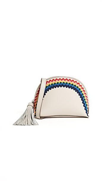 Loeffler Randall cross pouch rainbow bag