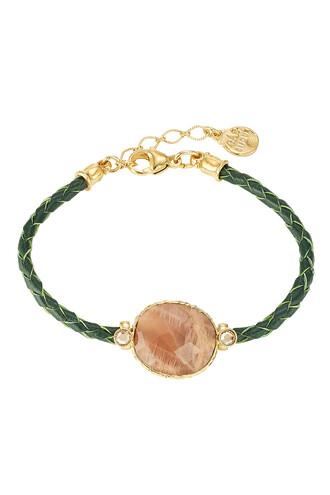 metal python gold green jewels