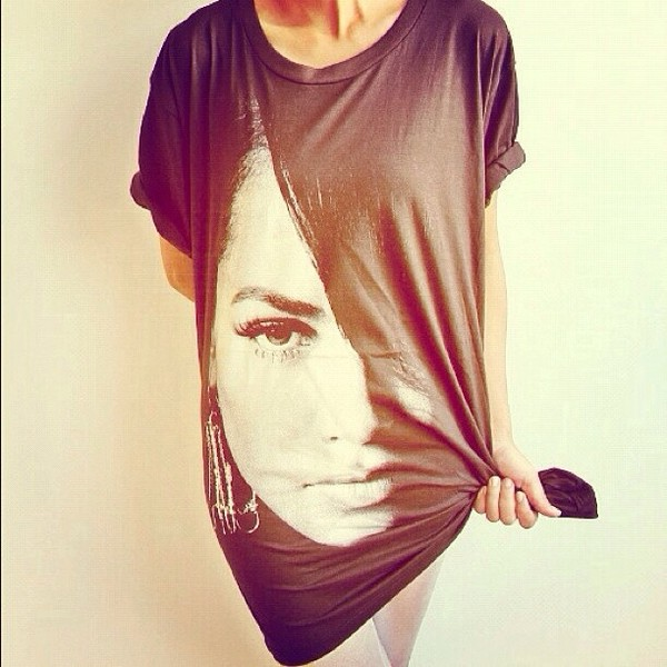 shirt aaliyah t-shirt