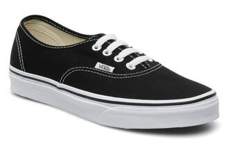 shoes vans vans of the wall black black and white