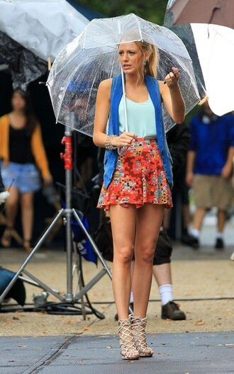 blue t-shirt tank top shoes t-shirt skirt shirt turquoise gossip girl gossip girl shirt serena van der woodsen