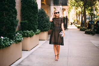 damsel in dior blogger dress bag jewels shoes