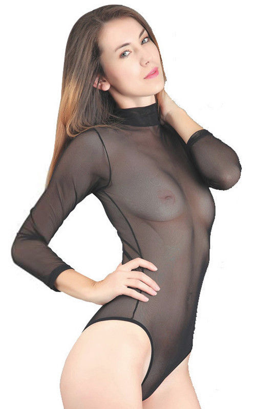 Lethalbeauty ? mesh high neck bodysuit
