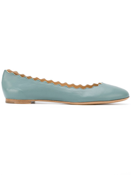 women leather blue shoes