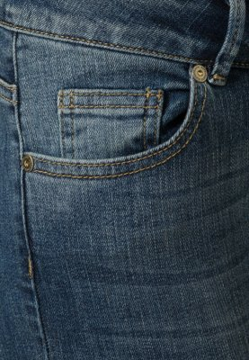 Supertrash PARADISE - Jeans Slim Fit - dark blue ripped - Zalando.de