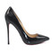 5 inch heels - black high heel red bottom pumps