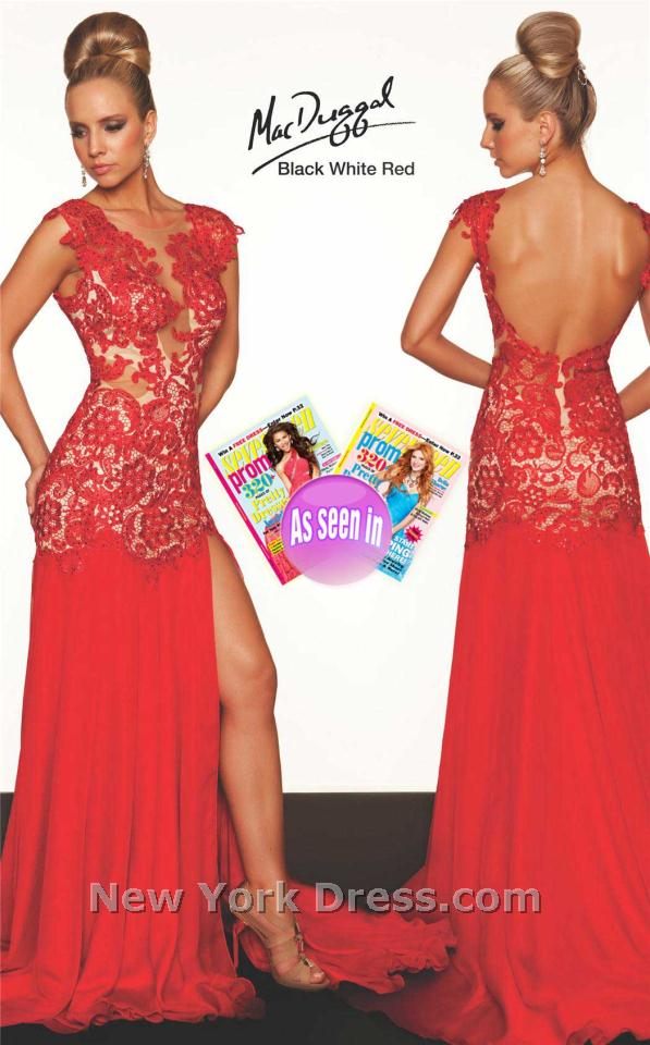 Mac duggal 61041r dress