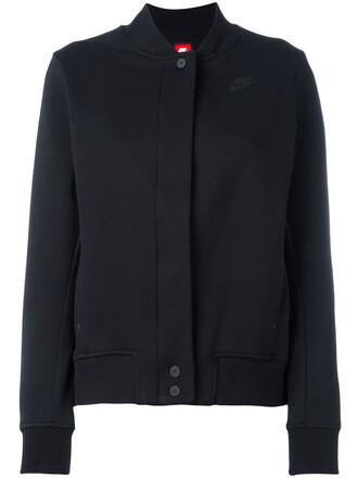 jacket varsity jacket women varsity cotton black