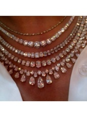 jewels,necklace,diamonds,diamond necklace,fashion,sparkle,women,classy,elegant,silver