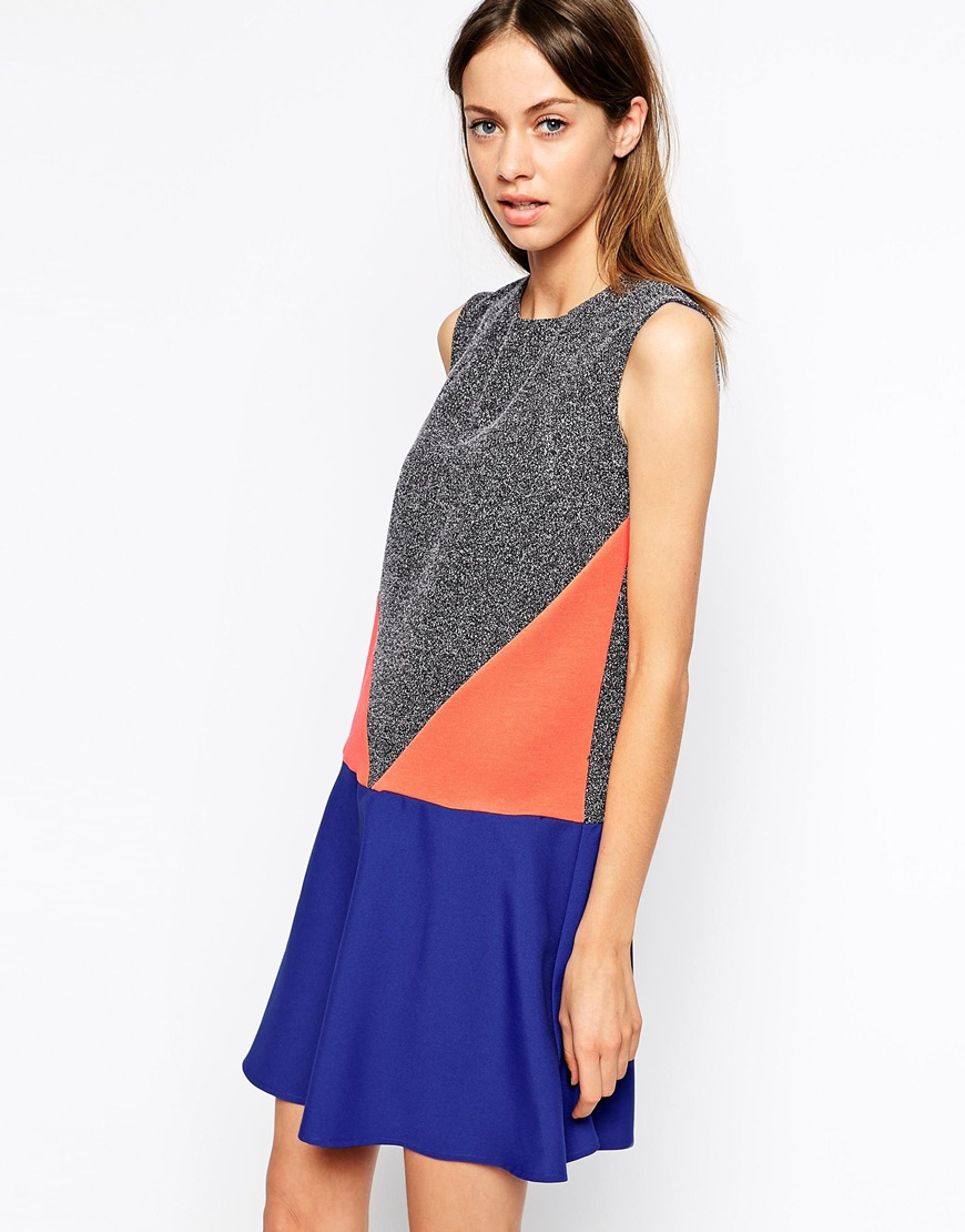 The Laden Showroom X Katka Rosanna Geo Panel Dress at asos.com