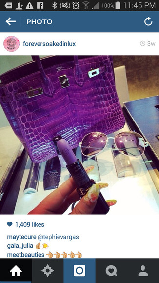 purple bag bag