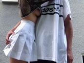 shirt,adidas,tumblr,vaporwave,pale,couple,love,match,t-shirt,menswear,palewave,vintage
