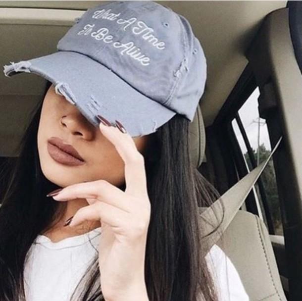 hat tumblr denim writing hats and beanies felt hat