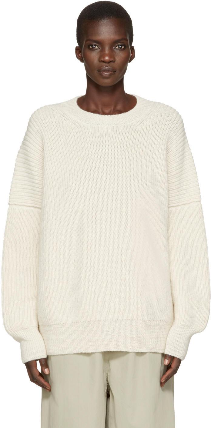Lauren Manoogian Grey Fisherman Tunic Sweater - Wheretoget
