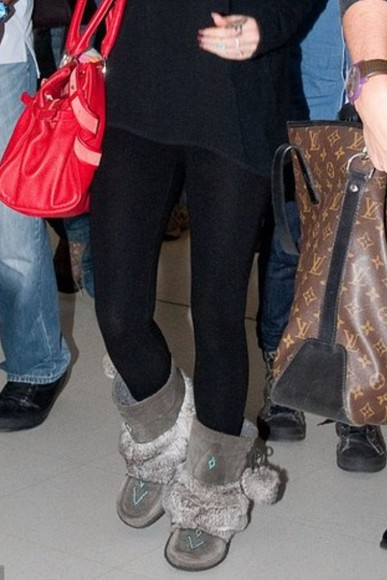 megan fox fur fur-trim grey uggs gray grey boots suede sheepskin uggs or sheepskin boots native american