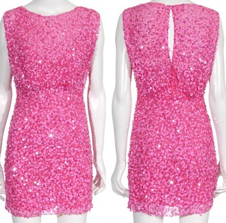dress jennypeckham pinkstar jenny peckham pink dress pink paillettes sequin dress cocktail dress party outfits party dress cute dress