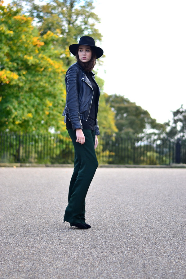 shot from the street blogger top jacket