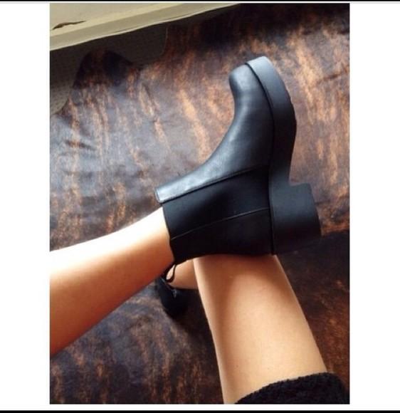 black boots underwear