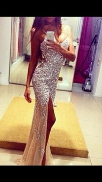 dress sparkly dress prom dress long prom dress beautiful www.ebonylace.net ebonylacefashion