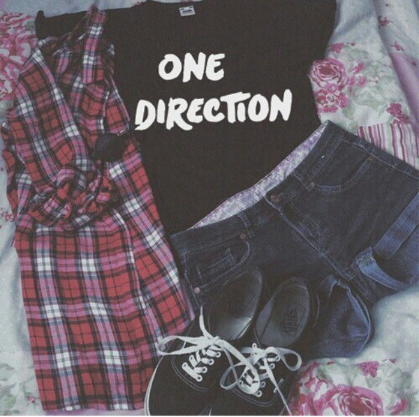 shirt one direction tees
