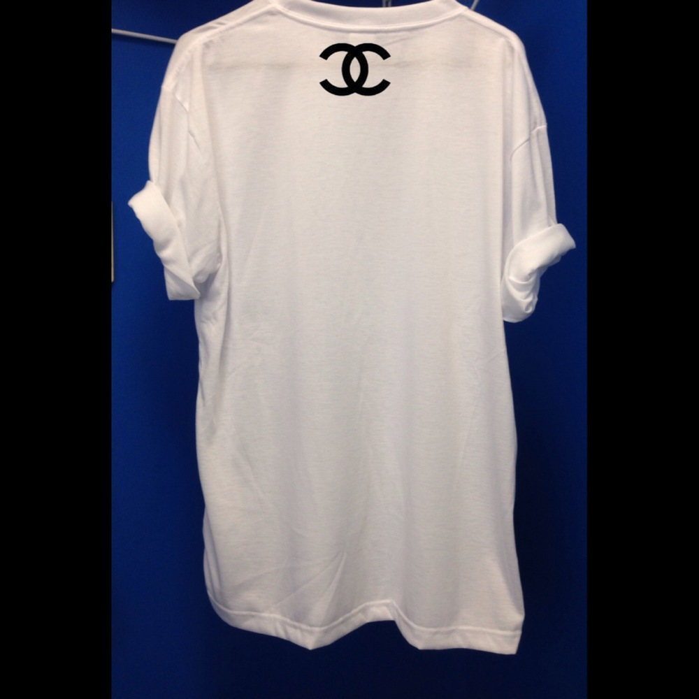 Chanel On Back Inspired Limited Edition Tees — Luxury Elites