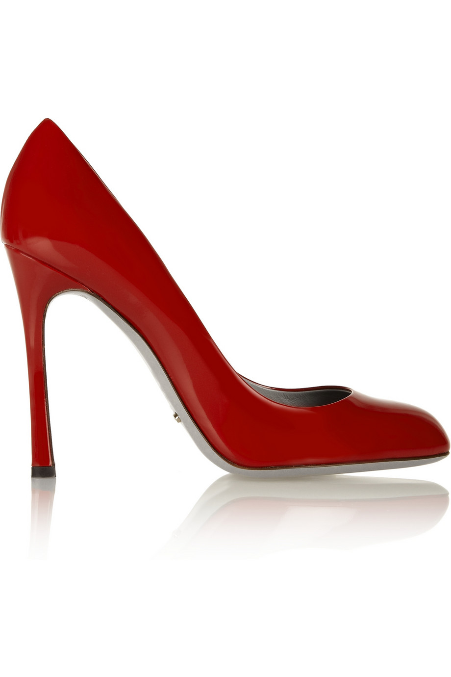 Patent-leather pumps | Sergio Rossi | 50% off | THE OUTNET