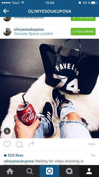 bag givenchy bag givenchy tote bag urban black and white varsity favelas