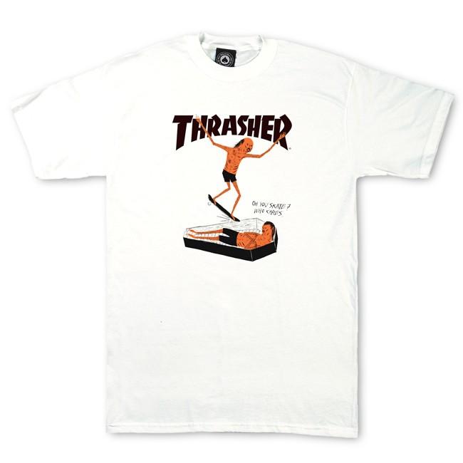 Thrasher Magazine Shop - Neck Face T-Shirt By Neck Face
