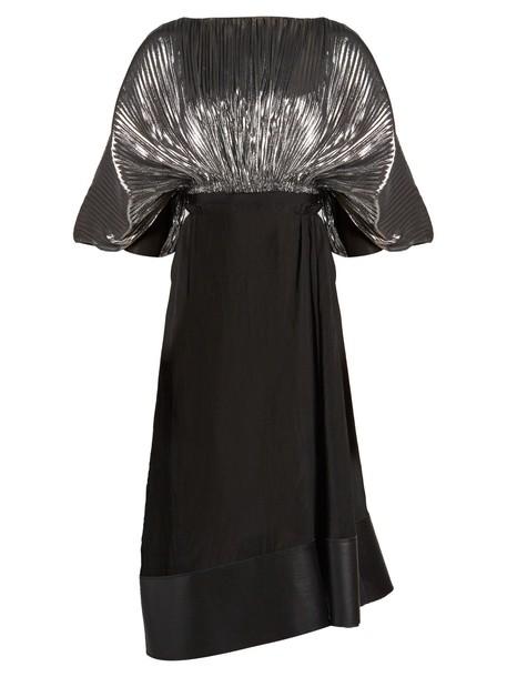 dress silver black