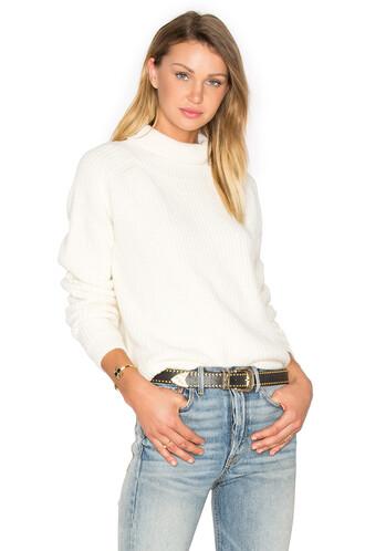 sweater turtleneck turtleneck sweater white
