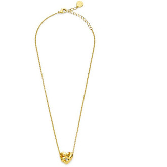 jewels gold knot necklace