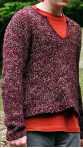 sweater,red,purple,jumper,comfy,harry potter