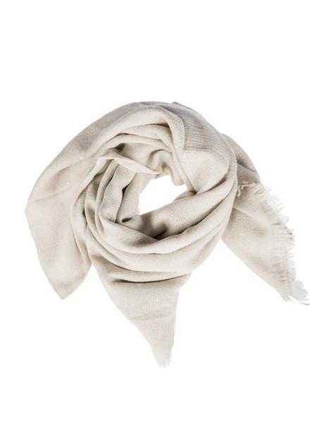 BRUNELLO CUCINELLI embellished scarf