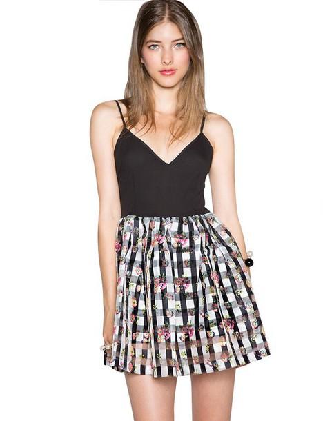 17d9a3e5e22b1 black organza dress floral dress gingham sun dresses summer dress  affordable dresses summer/spring pixie