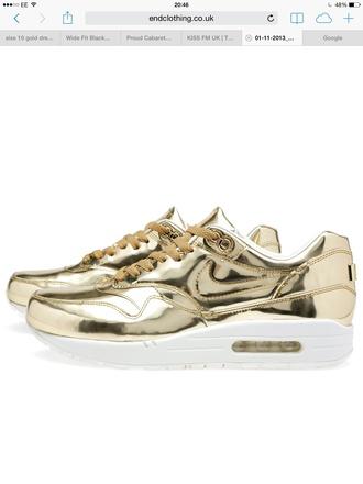 shoes liquid gold air max 1 nike air max yeezy beyoncé gold