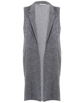 LOVE Grey Boucle Sleeveless Boyfriend Jacket - In Love With Fashion
