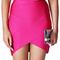 Asymmetric bandage skirt pink
