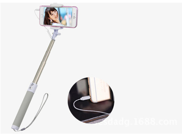home accessory selfie stick selfie stick mobile mobile selfie monopod wheretoget. Black Bedroom Furniture Sets. Home Design Ideas