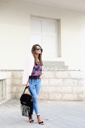 bag jacket jeans blogger top seams for a desire
