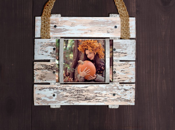 home accessory rustic picture frame custom photo pallet pallet
