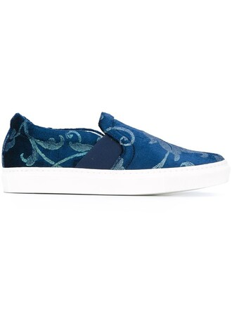 sneakers blue shoes