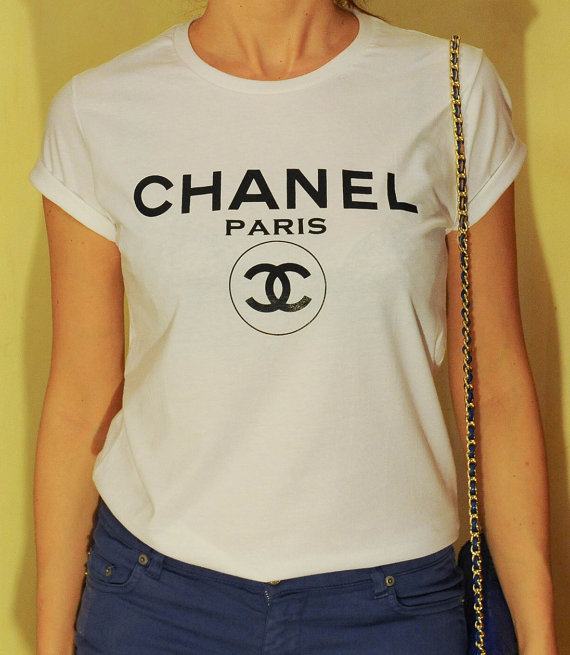 chanel paris tshirt chanel tshirt woman tee di