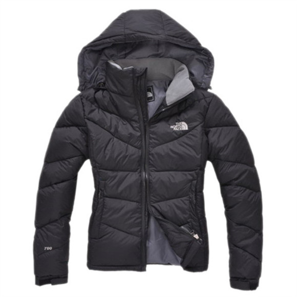 coat black coat jacket down jacket hooded down jacket