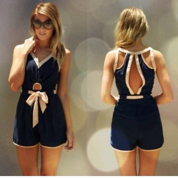 shorts jumpsuit