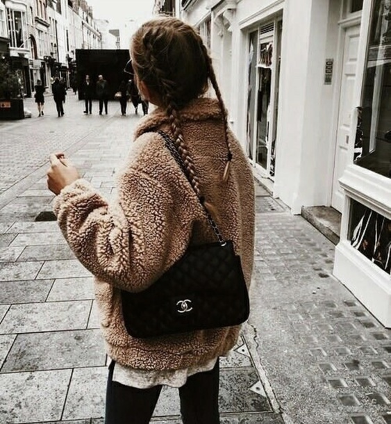 jacket bear brown fall outfits fall outfits fancy winter outfits teddy bear fashion fashion vibe warm warm sweater