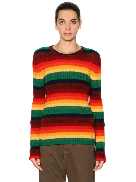 sweater knit mohair wool