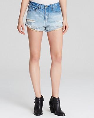 rag & bone/JEAN Shorts - The Marilyn Ombre   Bloomingdale's