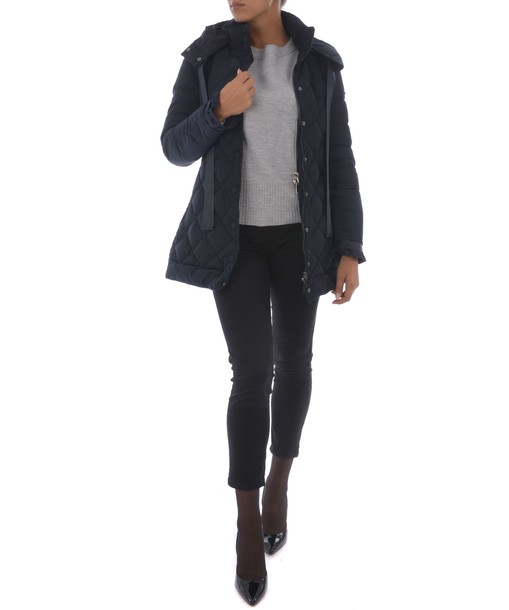 ARMANI JEANS coat quilted