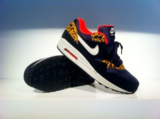 shoes nike sneakers leopard print air max